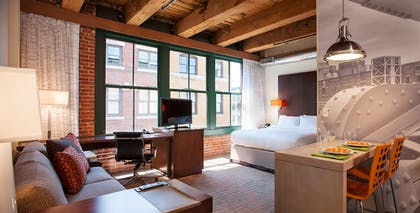Guestroom | Residence Inn by Marriott Boston Downtown/Seaport