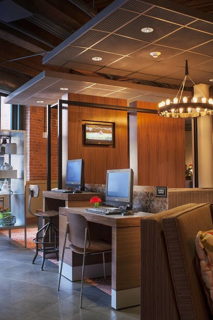 Business Center | Residence Inn by Marriott Boston Downtown/Seaport