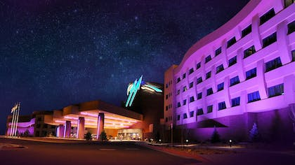 Hotel Front - Evening/Night | Twin Arrows Navajo Casino Resort