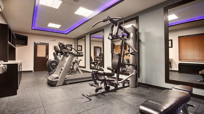 Fitness Facility | Best Western Plus North Odessa Inn & Suites
