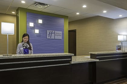 Lobby |  | Holiday Inn Express & Suites Orlando East - UCF Area