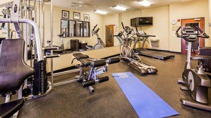 Fitness Facility | Best Western Plus Seminole Hotel & Suites