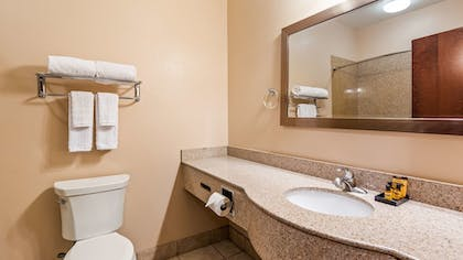 Bathroom | Best Western Plus Seminole Hotel & Suites