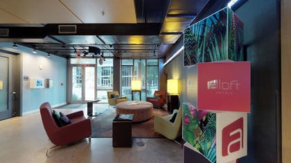Lobby Lounge | Aloft Miami - Brickell