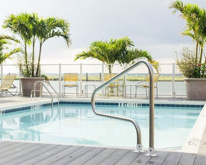 Outdoor Pool | Fairfield Inn & Suites by Marriott Chincoteague Island Waterfront