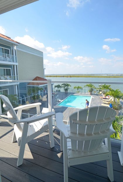 Balcony View | Fairfield Inn & Suites by Marriott Chincoteague Island Waterfront