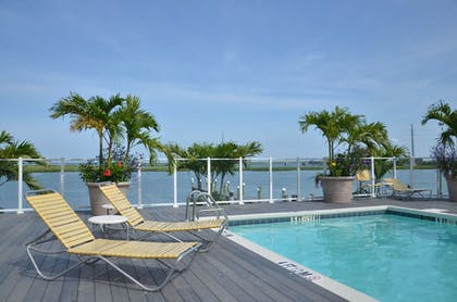 Indoor/Outdoor Pool | Fairfield Inn & Suites by Marriott Chincoteague Island Waterfront