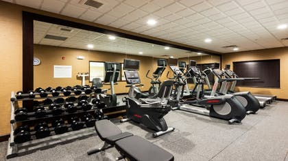 Fitness Facility | Holiday Inn Express Hotel & Suites Butte