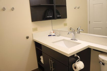Bathroom | Candlewood Suites Harrisburg - Hershey