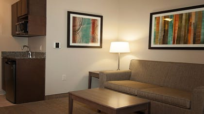 Living Area | Holiday Inn Express & Suites Wichita Northeast