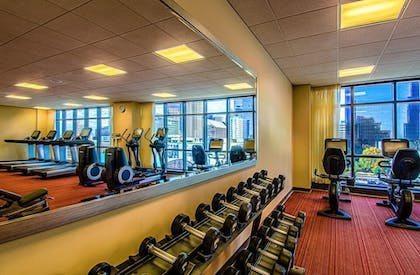 Gym | Hyatt Place Charlotte Downtown