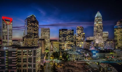 City View | Hyatt Place Charlotte Downtown