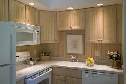In-Room Kitchen | The Villages at Ocean Edge