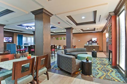 Lobby | Holiday Inn Express & Suites San Antonio SE By At&t Center