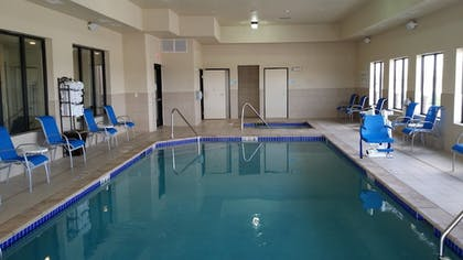Pool | Holiday Inn Express Hotel & Suites Deming Mimbres Valley