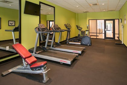 Fitness Facility   Holiday Inn Express Hotel & Suites Monroe
