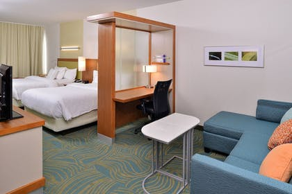 Guestroom | SpringHill Suites by Marriott Voorhees Mt. Laurel/Cherry Hil