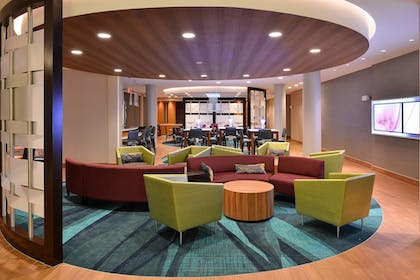 Lobby | SpringHill Suites by Marriott Voorhees Mt. Laurel/Cherry Hil