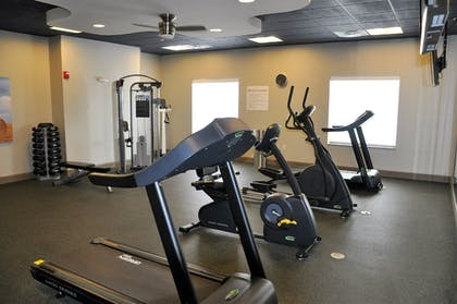 Fitness Facility | Holiday Inn Express Perry-National Fairground Area