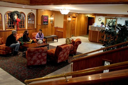 Lobby Sitting Area | Groton Inn and Suites