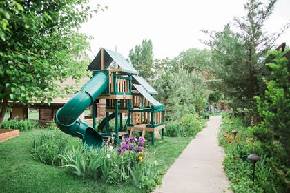 Childrens Play Area - Outdoor | Cliffrose Lodge & Gardens at Zion Natl Park