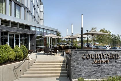 Terrace/Patio | Courtyard Philadelphia South at The Navy Yard