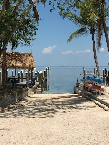 Dock | The Pelican Key Largo Cottages