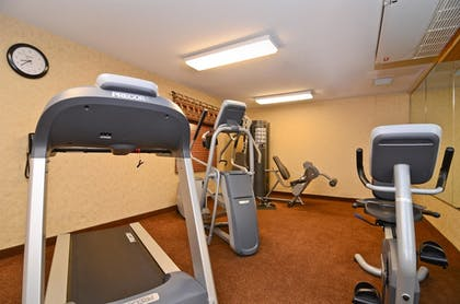 Gym | Best Western Plus Kelly Inn & Suites