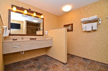 Bathroom | Best Western Plus Kelly Inn & Suites