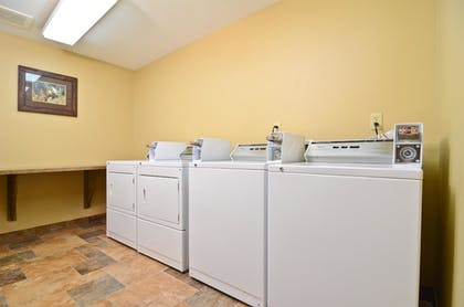 Laundry Room | Best Western Plus Kelly Inn & Suites