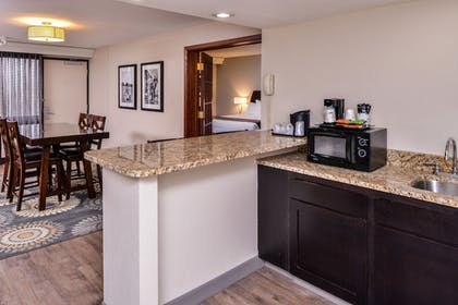 In-Room Kitchenette | Best Western Kelly Inn