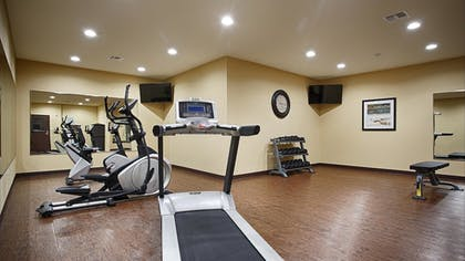 Gym | Best Western Plus Fort Worth Forest Hill Inn & Suites