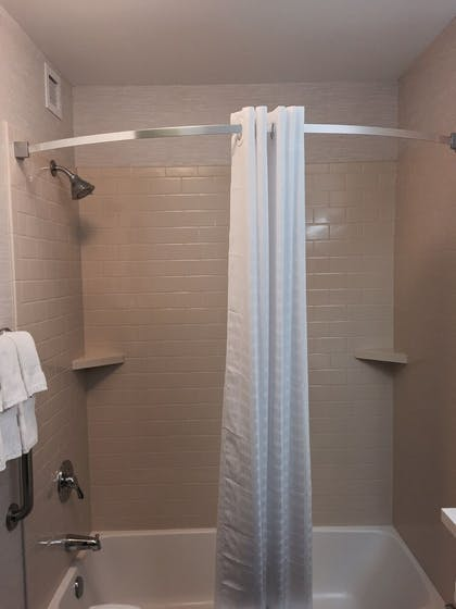 Bathroom | Candlewood Suites Youngstown W I-80 Niles Area