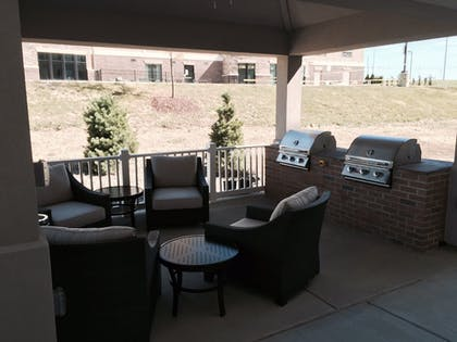 Balcony | Candlewood Suites Youngstown W I-80 Niles Area