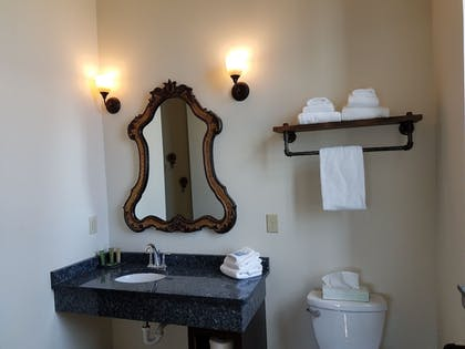 Bathroom | The Brewhouse Inn & Suites