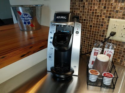 In-Room Coffee | The Brewhouse Inn & Suites