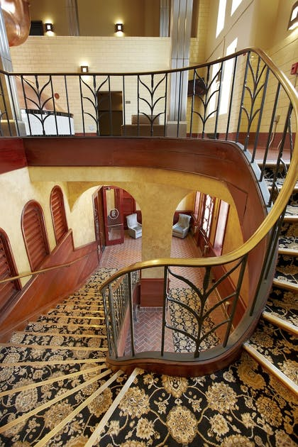Staircase | The Brewhouse Inn & Suites