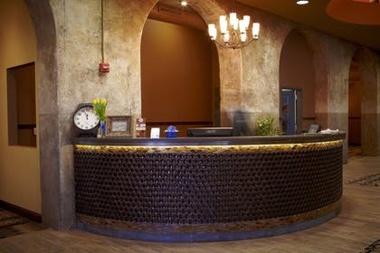 Check-in/Check-out Kiosk | The Brewhouse Inn & Suites