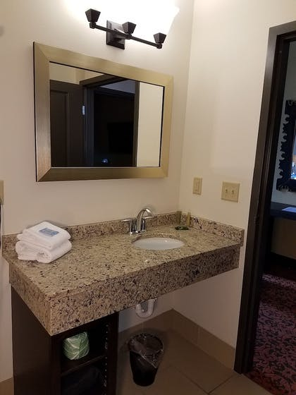 Bathroom Sink | The Brewhouse Inn & Suites