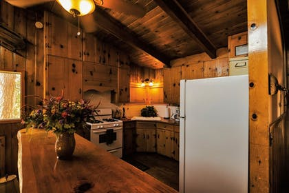Private Kitchen   Honey Bear Lodge & Cabins