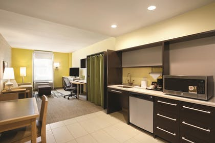 In-Room Kitchenette | Home2 Suites by Hilton Long Island City