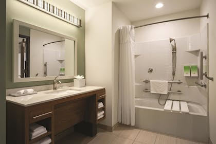 Bathroom | Home2 Suites by Hilton Long Island City