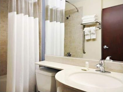 Bathroom Sink | Three Rivers Inn & Suites