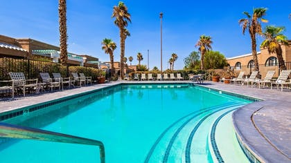 Outdoor Pool | Best Western Gardens Hotel at Joshua Tree National Park