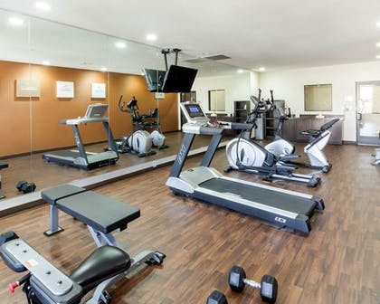 Fitness Facility | Comfort Suites Cotulla near I-35