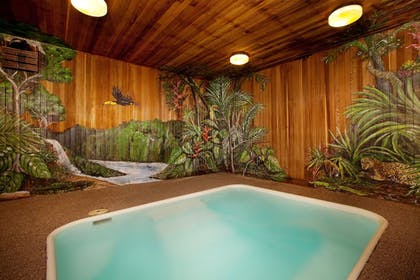 Indoor Spa Tub | Lift House Lodge