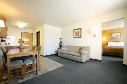 Living Area | Extended Stay Airport