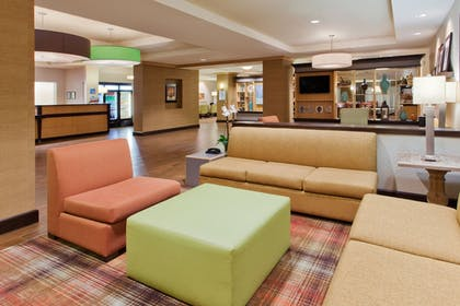 Lobby Sitting Area | Holiday Inn Express Hotel & Suites Huntsville West - Research Pk