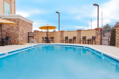 Pool | Holiday Inn Express Hotel & Suites Huntsville West - Research Pk