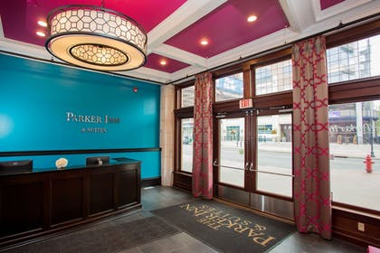 Interior Entrance | The Parker Inn & Suites